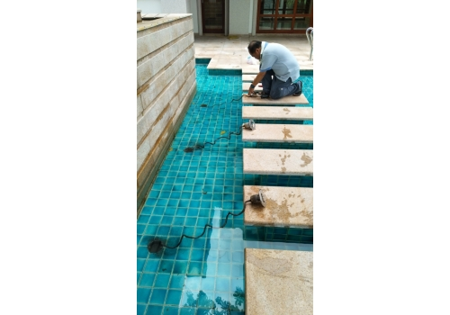 Swimming pools pumps maintenence